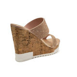 Rosegold Wedge