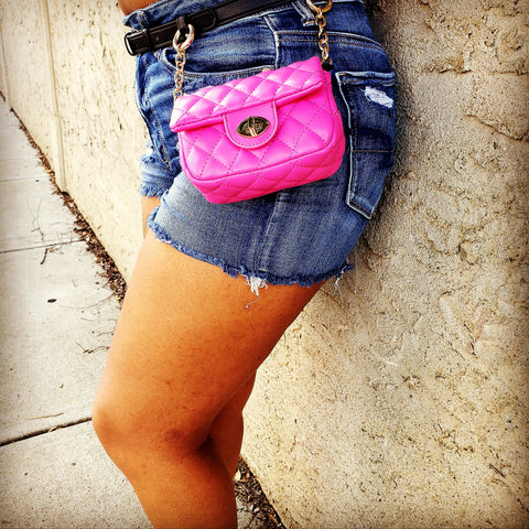 Miniature Tufted Fannypack