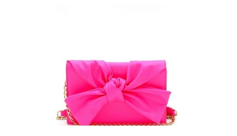 Bow Clutch Purse