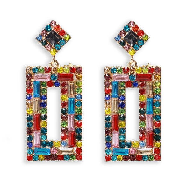Colorblock Earrings