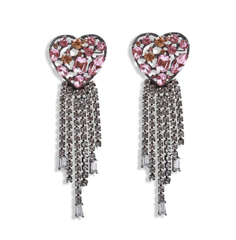Sensational Heart Earrings