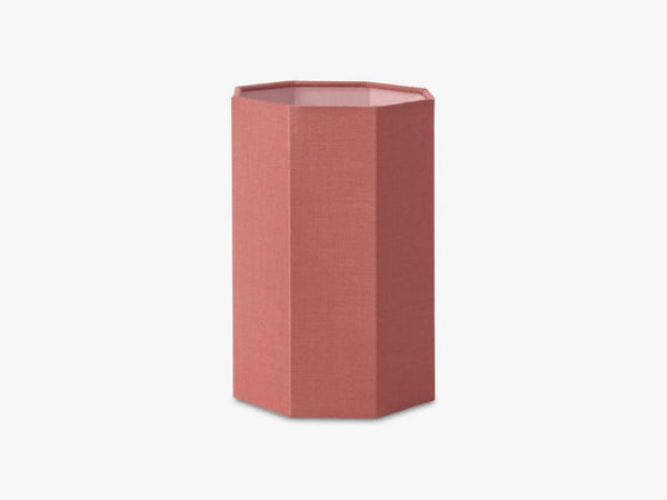 LAMPSHADE SMALL, CORAL RED