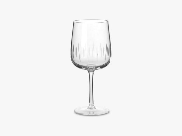 CRYSTAL WINE GLASS, ROUGE