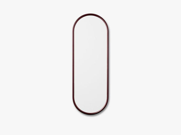 ANGUI MIRROR - SMALL, BORDEAUX