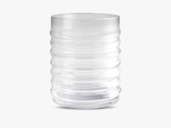 WILLY VASE, CLEAR