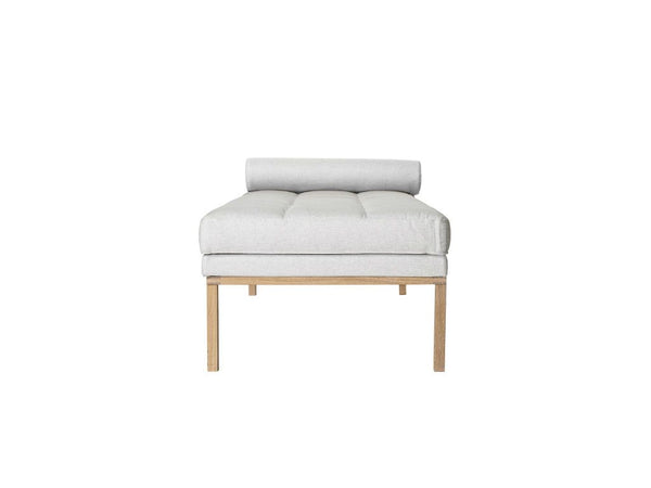 Square Daybed, Grå, Bomuld