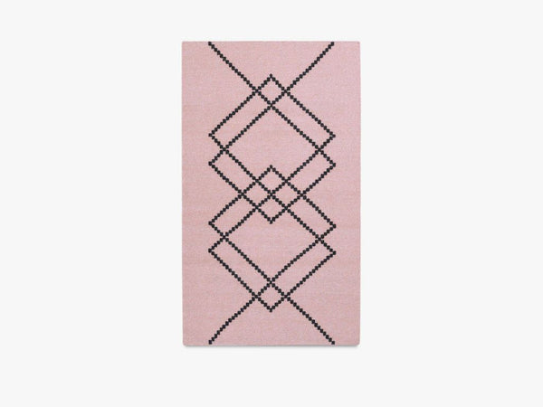 RUG BORG - 80X140 - LIGHT ROSE