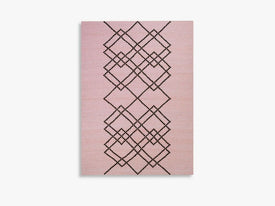 RUG BORG - 170X240 - LIGHT ROSE