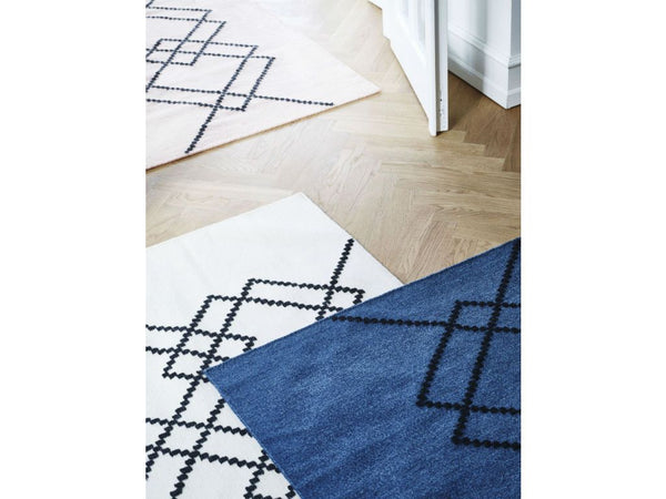 RUG BORG - 140X200 - ROYAL BLUE