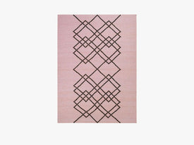 RUG BORG - 200X300 - LIGHT ROSE