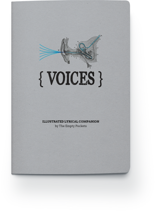 Voices Hand-Illustrated Lyric Book