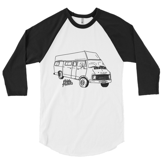 Travelin' Van Baseball Tee