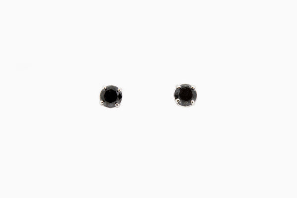 Black-Diamond-Studs-Jewelry-Store-Boston-MA