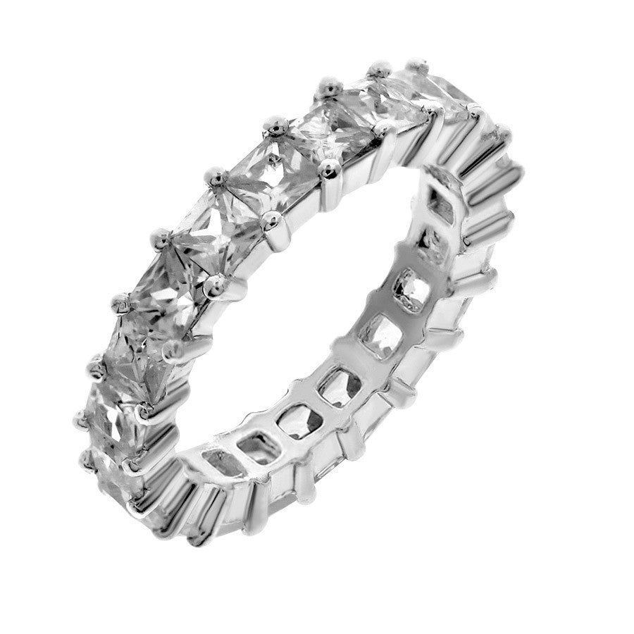 wedding with eternity ring split pave full cut bands band round rings princess of diamond engagement size