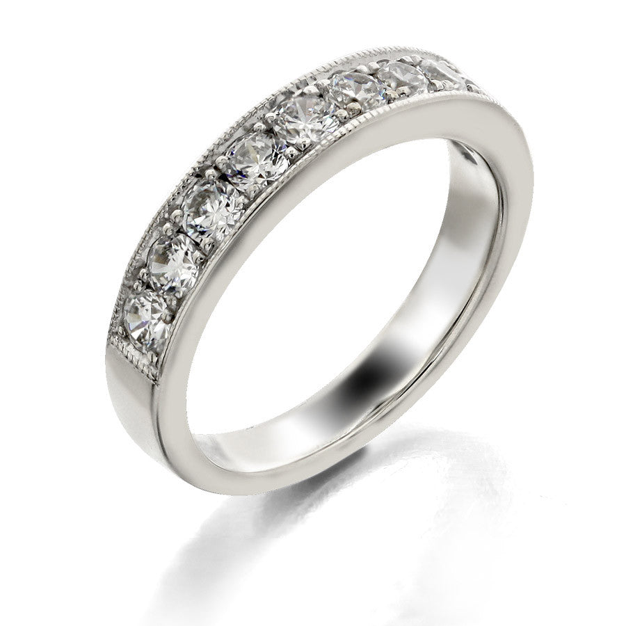 four campbell diamond platinum campbelljewellers fourdiamondeternityring products certified gia eternity engagement ring jewellers