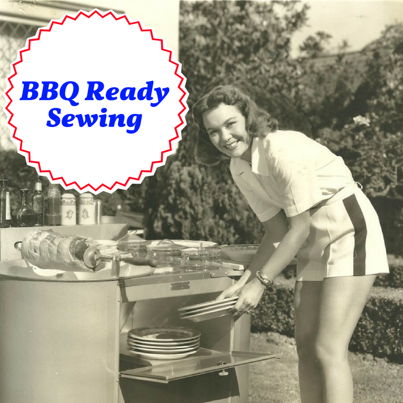 New Sunday Sewing Class: BBQ Ready Sewing