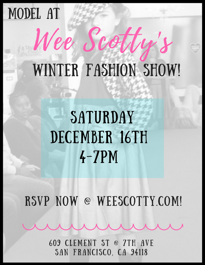 Our Winter Fashion Show is HERE!