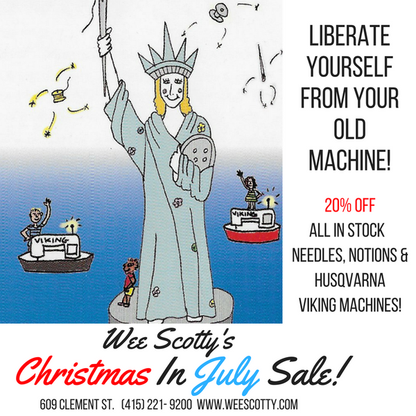 Christmas In July Sale!