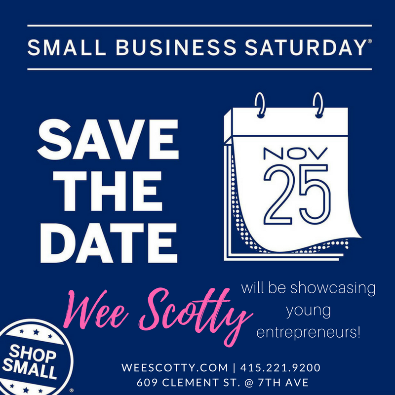 Small Business Saturday is a week away!
