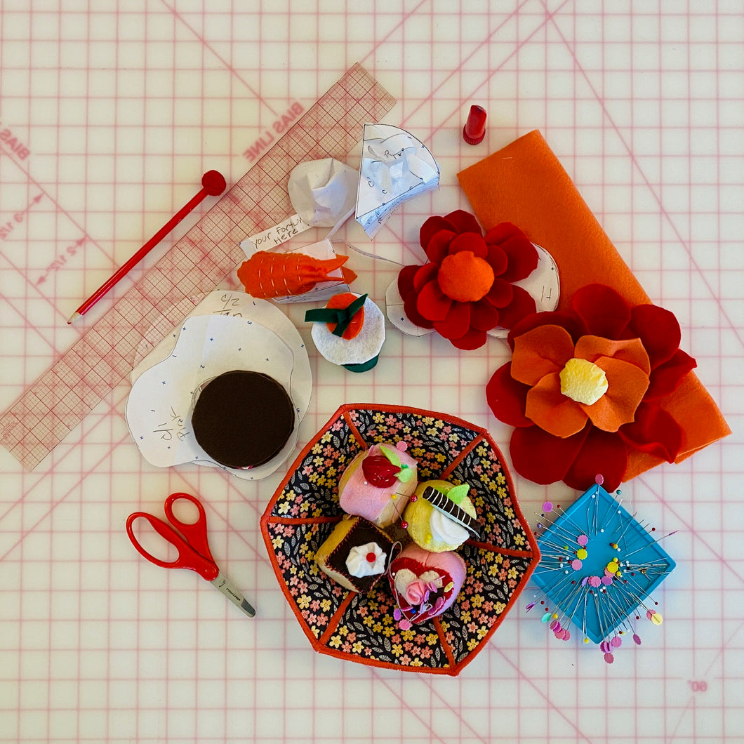Sweet Tooth Pin Cushions Kit