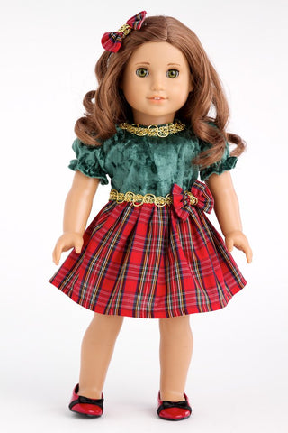 Wednesdays- American Girl Holiday Dresses