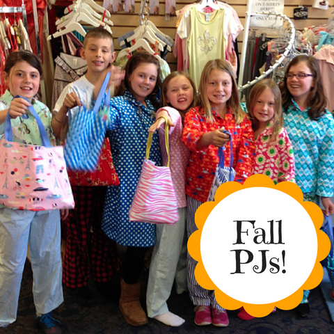 Fall 2018 - Mondays- Fall PJs