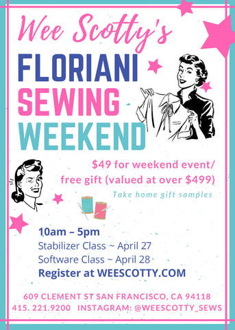 FLORIANI EVENT San Francisco / Bay Area