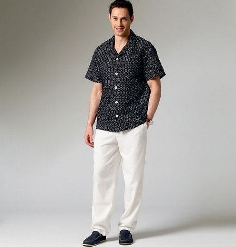 McCalls Men Shirt - M6972