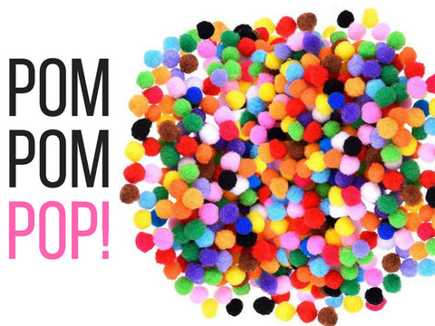 POM POM POP! Free Sunday Sewing in July!