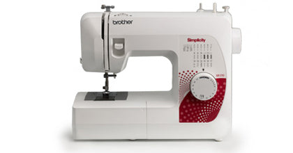 Brother + Simplicity  SB170 - Simply Affordable Sewing Machine