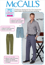 McCall's M7987 - Slim Fit Pants