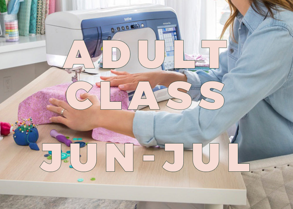 Adult Class - Mondays 2020 - June/July