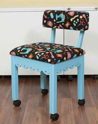 Blue Sewing Chair