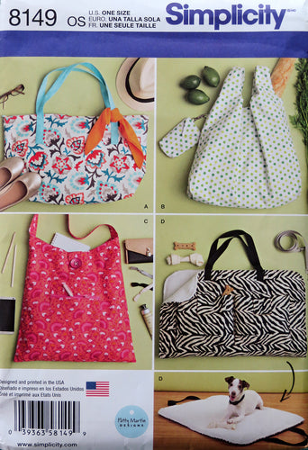 Simplicity Pattern Bags