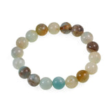 AD Beads Natural Gemstone Round Beads Stretch Bracelet Healing Reiki 10mm