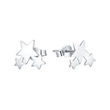 AD Beads Women's 925 Sterling Silver Earring Multiple Designs