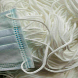 3mm (1/8'') White Round Elastic Band Cord Sewing For DIY Face Masks 10 yards to 500 yards