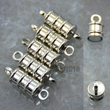 5 Sets Insert Safety Clasp/Magnetic Clasp Connector For Bracelet Necklace Making