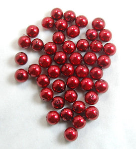 Top Quality Czech Glass Pearl Round Loose Beads 100 Pcs Bag (3)