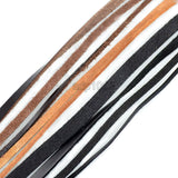 Flat Genuine Leather Cord Cowhide Stringing Material 5 Yards