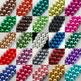 Top Quality Czech Glass Pearl Round Loose Beads 100 Pcs Bag (2)