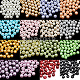 Top Quality Czech Satin Luster Glass Pearl Round Loose Beads Bag (1)