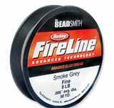 Beadsmith Fireline Braided Cord Polyethylene Strong Fiber Stringing Material