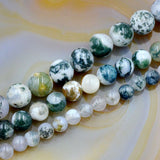 Natural Ocean Jasper Gemstone Round Spacer Beads 16'' 6mm 8mm 10mm