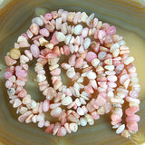 "5-10mm Natural Chip Nugget Freeform Gemstone Beads 34"" Pick Stone"