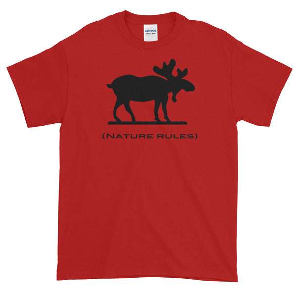 Nature Rules Moose Tee