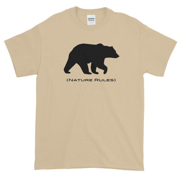 Nature Rules Bear Tee