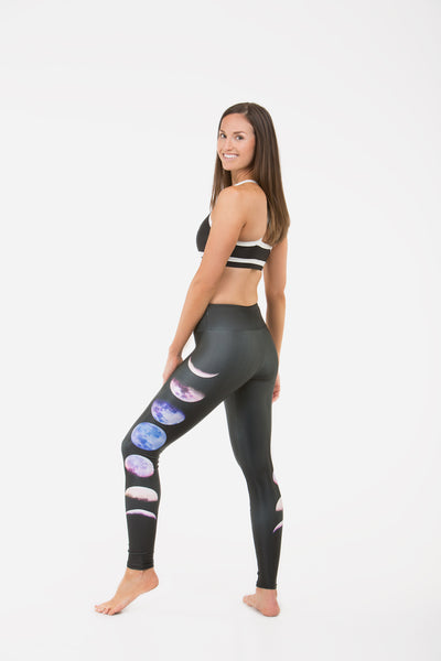 Goldsheep Moon Phases Leggings-Goldsheep Clothing