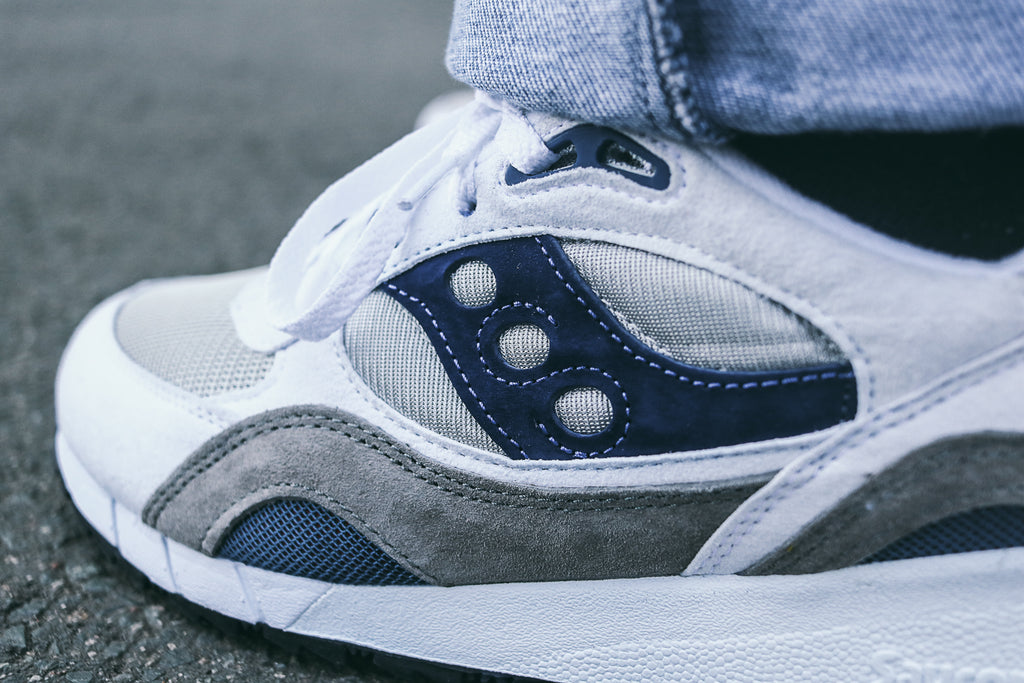 Saucony Shadow 6000 'White/Blue/Grey'