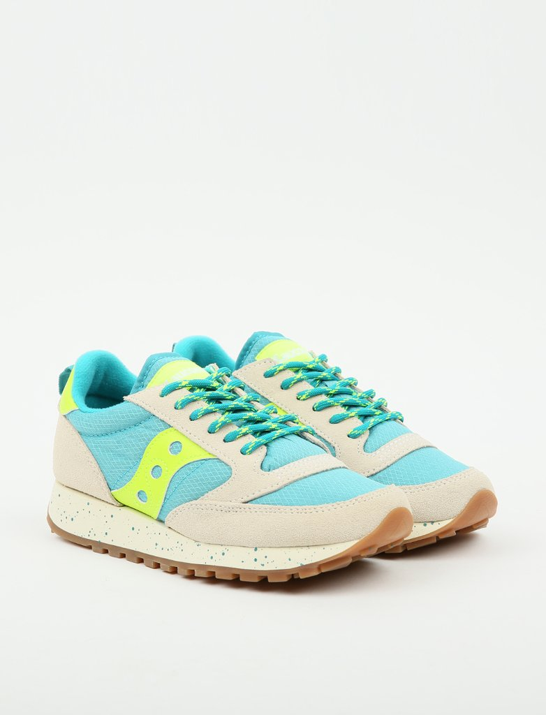 Saucony Wmns Jazz Trail 'Grey/Blue/Slime'